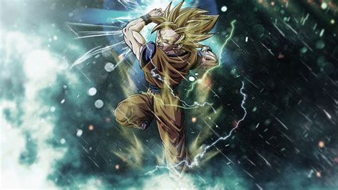 Download Free Goku Dragon Ball Z Wallpapers Wallpaperwiki