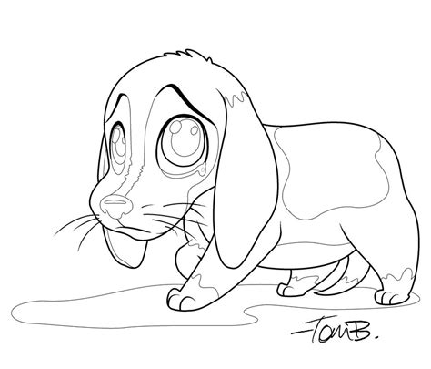 Beagle Kleurplaat by Beagle Coloring Pages To And Print For Free