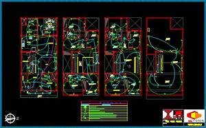 Wiring Plan Schematic  One Family Housing Dwg Plan For