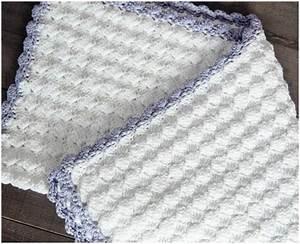 Vintage Chic Baby Crochet Blanket - Free Pattern - STYLESIDEA