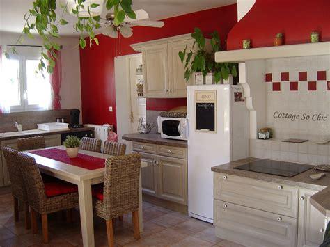 maison et cuisine cuisine cagne chic galerie et meuble cuisine cagne
