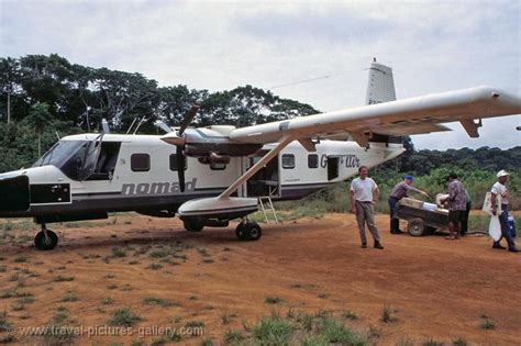 Travel Pictures Gallery- Suriname-0040- Nomad aircraft at ...