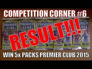 COMPETITION CORNER #6 RESULT! ☆ WIN 5x PACKS ☆ Topps ...
