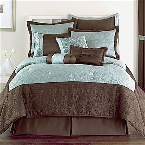 celina 10pc bedding comforter jcpenney curtains shades colors