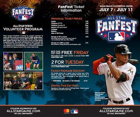 fan fest tickets 2017 2017 mlb all star fanfest brochure mlb com news