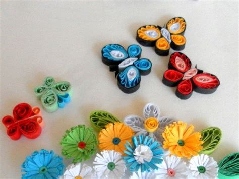 quilling paper craft ideas paper quilling how to make quilled butterflies and 5306