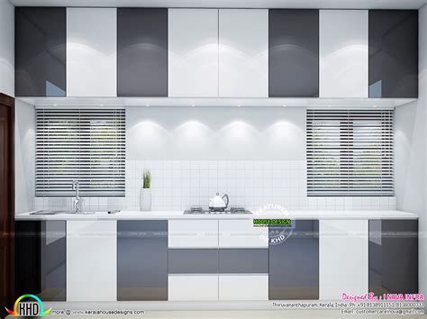 kitchen work area design kitchen work area bedroom and living interior kerala 6573