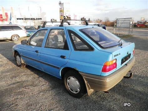 ford escort cl  car photo  specs
