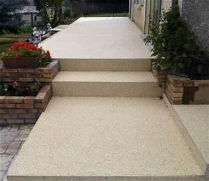 revetement de sol decoratif tapis de pierre With tapis de pierre extérieur
