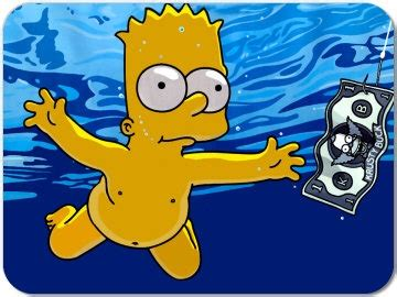 nirvanas nevermind bart style laugh time simpsons