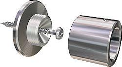aluschienen vorhangschiene aus aluminium als runde