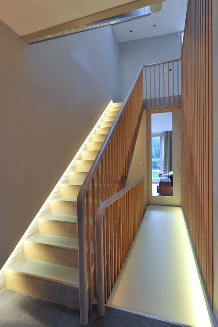 functional ideas illuminating internal stairs