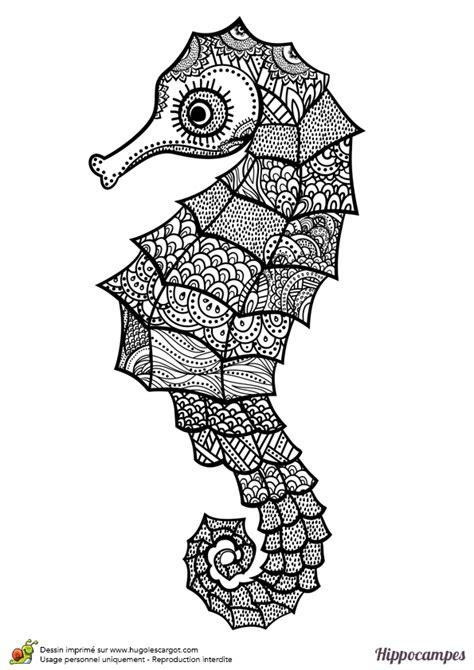 jeux de coiffure et de cuisine dessin à colorier d un hippoce mandala