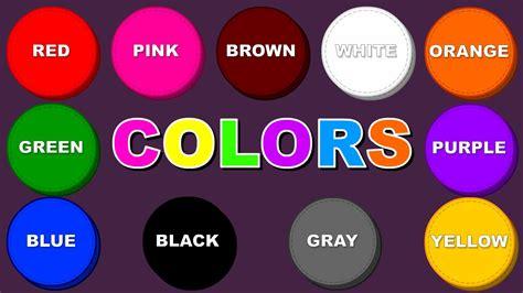 songs with colors in the name nama nama warna colors dalam bahasa inggris beserta
