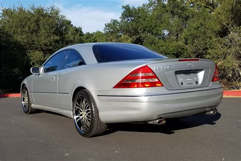 2001 Mercedes-benz Cl500
