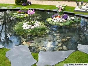 amenagement du jardin With charming amenagement jardin avec bassin 10 rocailles
