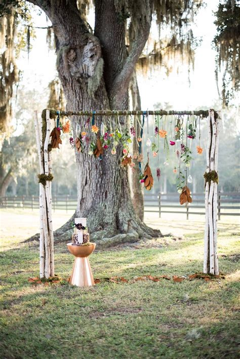Fall Indie Chic Wedding Ideas Wedding Ceremony Ideas