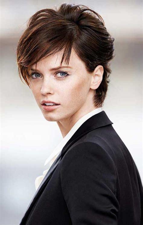 neue weibliche kurze haarschnitte frisuren haar