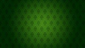 Dark Green Pattern - wallpaper.