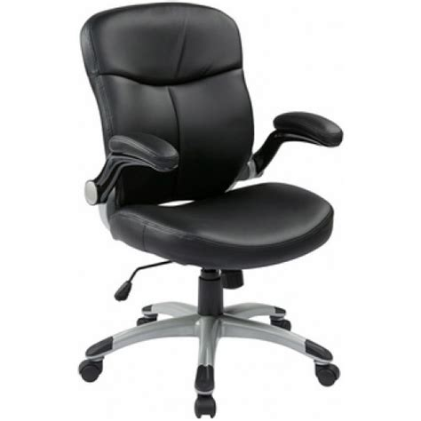 office executive mid back eco leather chair with