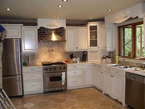 Kitchen Remodel Ideas Oak Cabinets White Table Blue