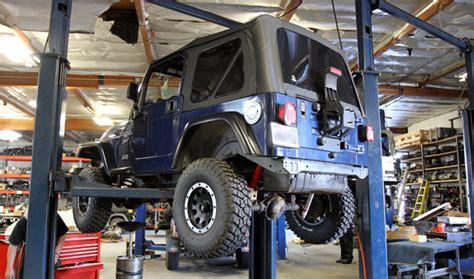 bali jeep  mechanical workshop