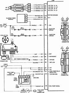 I Need The Wiring Harness Diagram For The Computer To Engine Compartment For My 1986 Chevy S10
