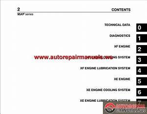 Daf 95xf Series Workshop Manual