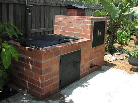 build custom pit image gallery smoker grill plans