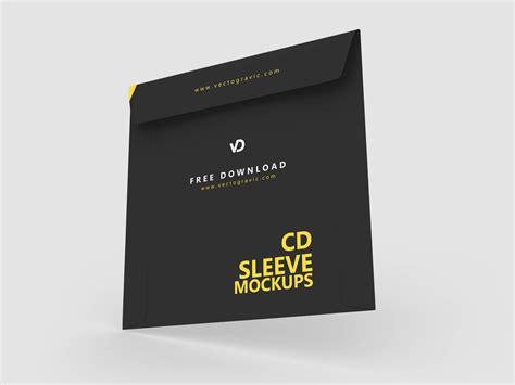 cd sleeve mockups     vectogravic design