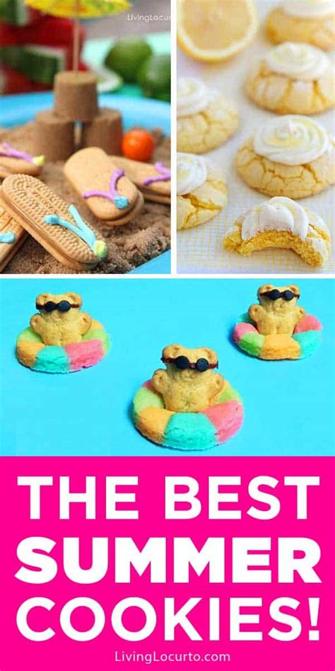 easy summer cookies  summer party recipes