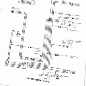 1969 Chevrolet Chevelle  Malibu Wiring Diagram Manual Ea