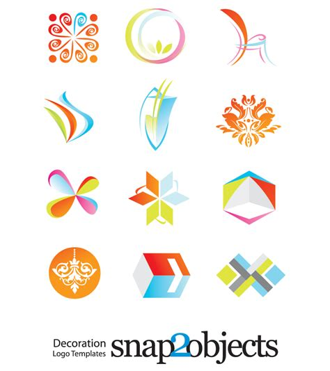 Free Logo Templates by 19 Free Vector Logos Images Free Vector