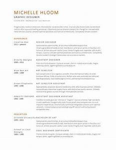 subtle creativity free resume template by hloomcom me With hloom free resume templates