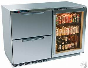 """Perlick H2RD5WD 48"""" Built-in Refrigerator Drawer/Wine ..."""