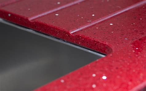 Kuchenarbeitsplatte Rot by K 252 Chenarbeitsplatte Silestone Eros Stellar
