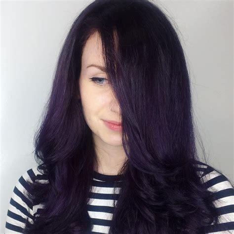 black violet hair color 50 stylish purple hair color ideas destined to