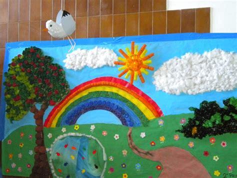 mural de primavera para ni 241 os imagui