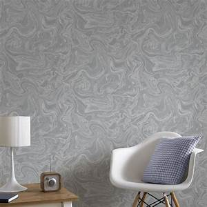 marbled grey and silver wallpaper graham brown With markise balkon mit graham tapete