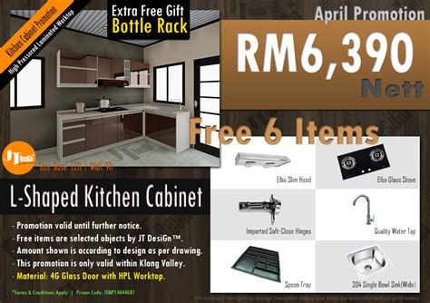 kitchen cabinet promotion price 4g kitchen cabinet promotion for april 2014 kitchen
