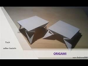 Origami Für Anfänger : origami f r anf nger faltanleitung tisch youtube ~ A.2002-acura-tl-radio.info Haus und Dekorationen