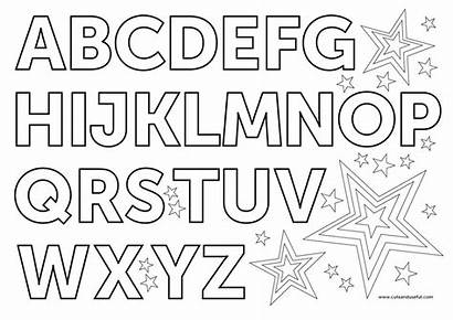 Alphabet Coloring Pages English Letters November Clipart
