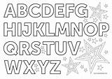 Alphabet Coloring Pages English Letters November Clipart Format sketch template