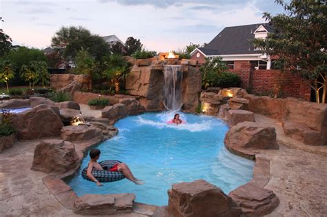 ruston pool rustic pool other metro by dolphin pools inc