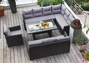 Lounge Mit Esstisch : edle dining lounge garten sitzgruppe hampton rattan garnitur mit hohem tisch g nstig online kaufen ~ Indierocktalk.com Haus und Dekorationen