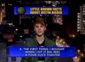 Video Justin Bieber s Top 10 Little Known Facts