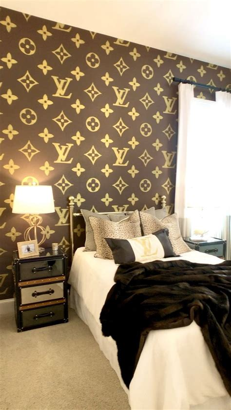 lv wallpaper louis vuitton aesthetic   bedroom