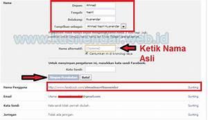 Cara Ganti Nama Profil Facebook dan Munculin Nama Asli ...