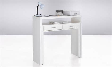 bureau console extensible 2 en 1 bureau console extensible groupon shopping