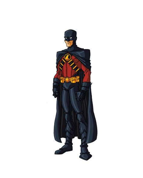 Red Robin New 52 Costume - Tim Drake - Comic Vine